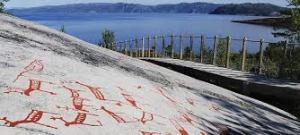 I graffiti rupestri di Alta
