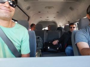 Cronofotografia del viaggio in Iran: 4- In viaggio nel deserto di Dasht-e Lut (con Fardin, Davud e Flavio.)