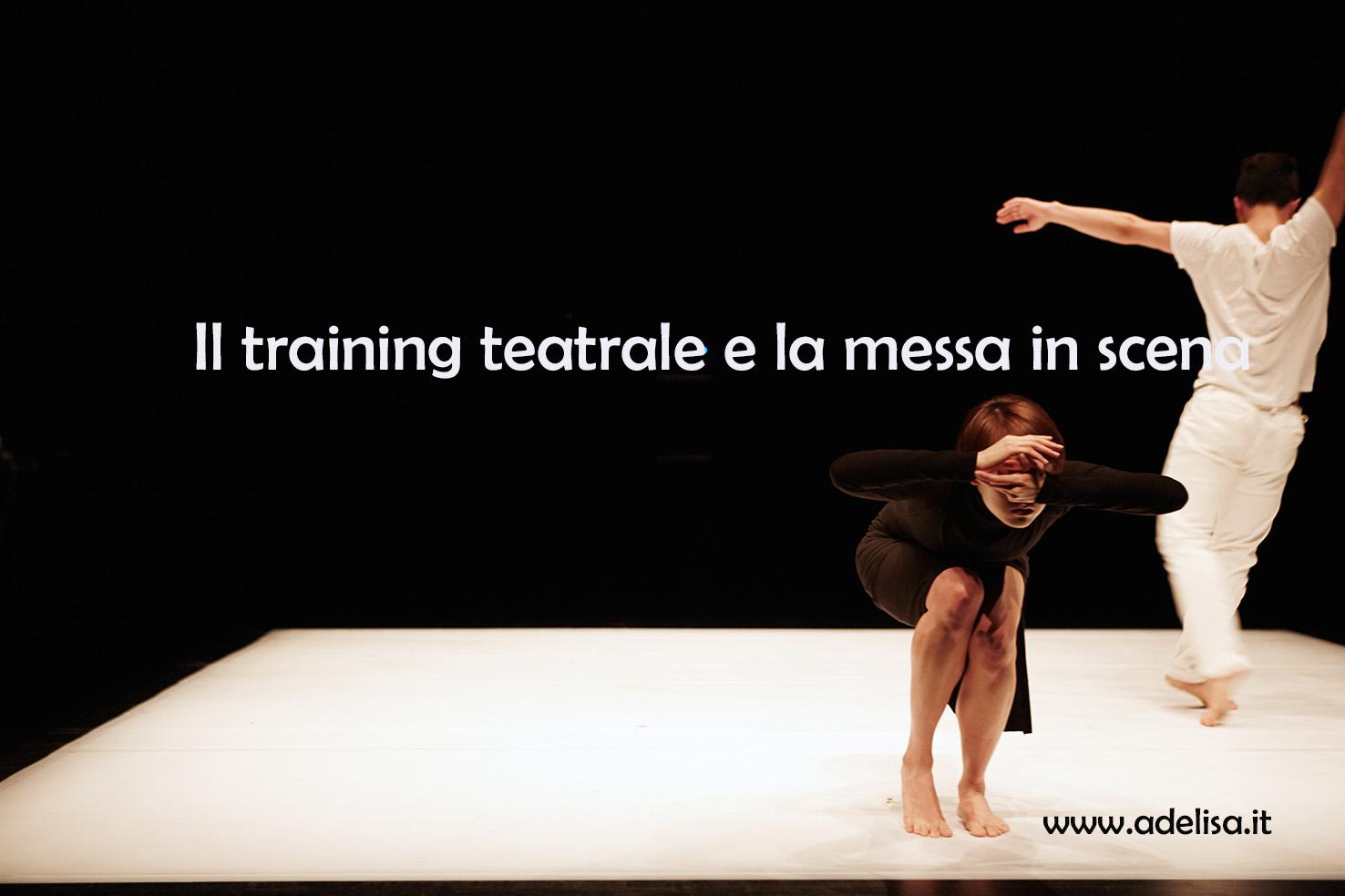 Logo Training teatrale