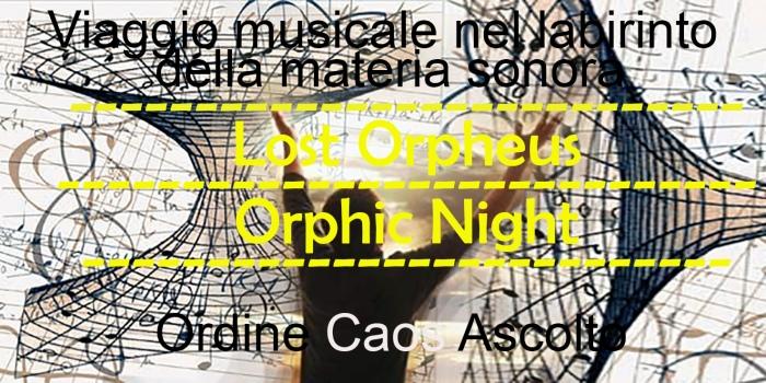 Orphic Night due