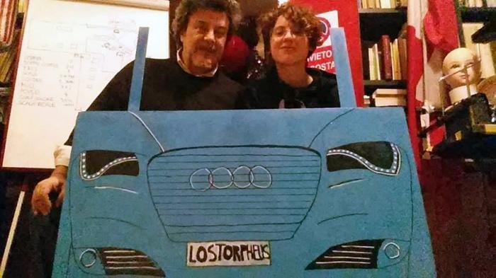 Antonio, Noemi, macchina