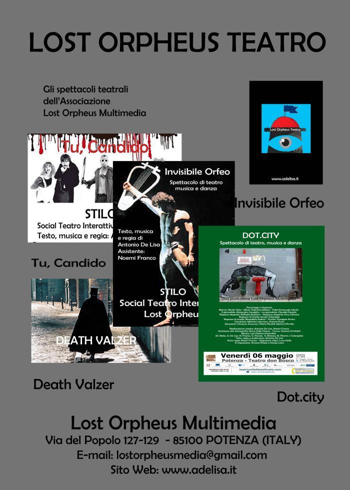Manifestino Lost Orpheus Teatro new