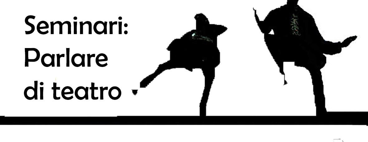 Logo Parlare di teatro