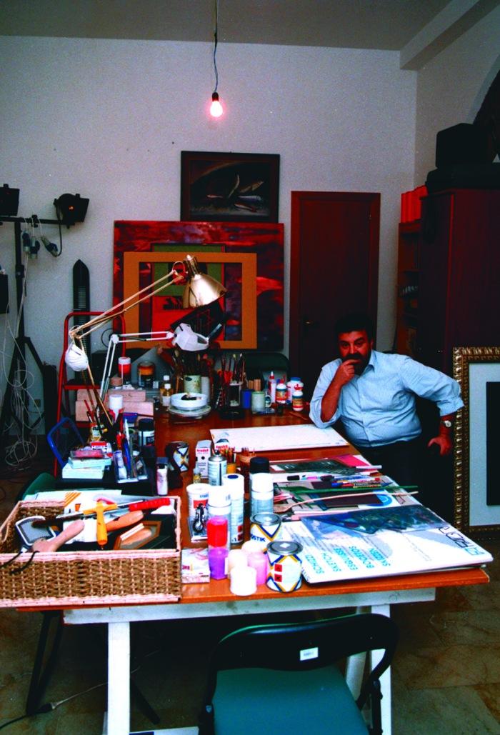 Studio dell'artista tre