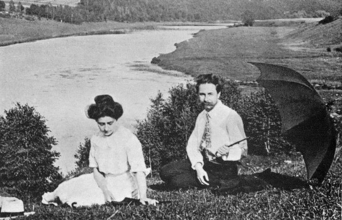 Alexander_Scriabin_and_Tatiana_Schloezer