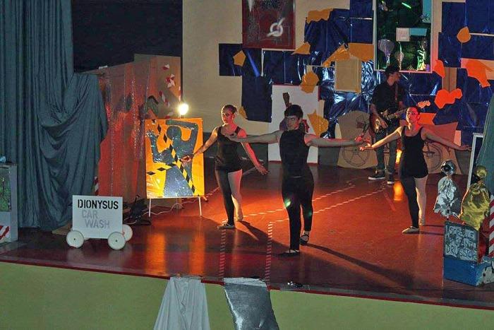Danzatori Invisibile Orfeo