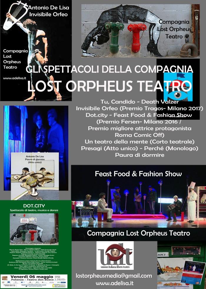 Logo Spettacoli Lost Orpheus Teatro