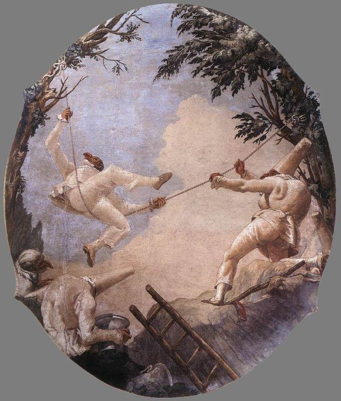 Giandomenico_Tiepolo_-_Pulcinelli_acrobati