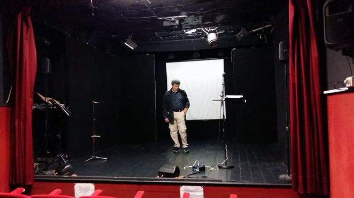 Palco teatro- rit