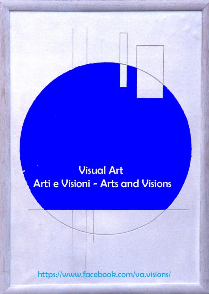 Logo Visual art blu
